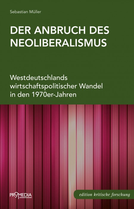 [Cover] Der Anbruch des Neoliberalismus